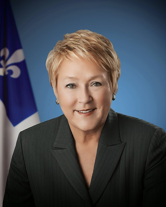 Pauline Marois|Photo by Benoît Levac