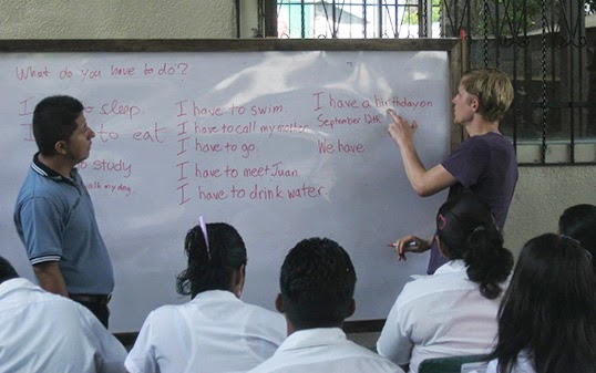 English class in Montericco.|Photo courtesy of Matthew Root