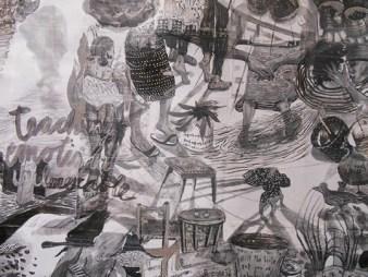 Take Me Back (Onde Eu Pertenço) by Lucie Chan. | Photo courtesy of Richmond Art Gallery.