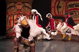Dancers of Damelahamid in Performance. | Photo courtesy of Dancers of Damelahamid