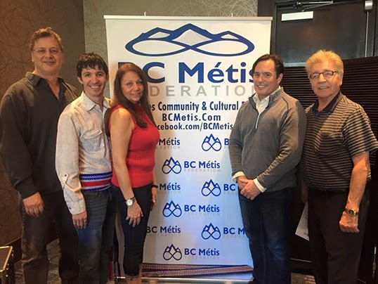 BC Metis Federation mambers | Photo courtesy of  BCMF