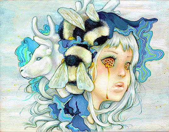 """Beekeeper"" by Camilla D'Errico | Photo courtesy of Camilla D'Errico"