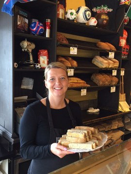 Lori Hibbert of Fratelli bakery. | Photo by Alison Chiang