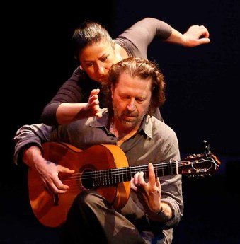 Rosario Ancer with Victor Kolstee in Quadrilogue Affective.| Photo by Tim Matheson.