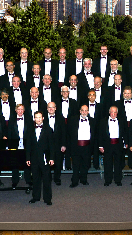 The Vancouver Men's Welsh Choir will perform Dec. 9 | Photo courtesy of the Vancouver Men's Welsh Choir
