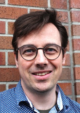 Tyler Russel, curator of Centre A. | Photo courtesy of Centre A