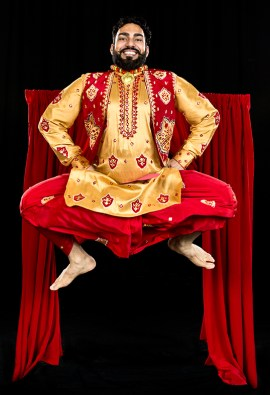 Hardeep Singh Sahota, dance director of the Royal Academy of Bhangra. | Photo by Derek Stevens