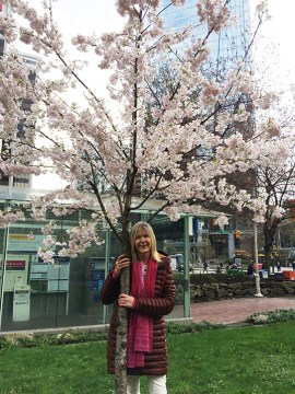 Linda Poole, founding executivedirector of the Vancouver Cherry Blossom Festival. | Photo courtesy of Linda Poole