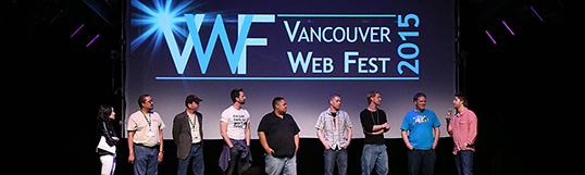 Photo courtesy of Vancouver Web Fest