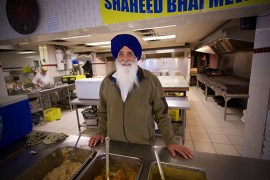 Communal kitchens, an important aspect of Sikh tradition. | Photo by Danny Kresnyak