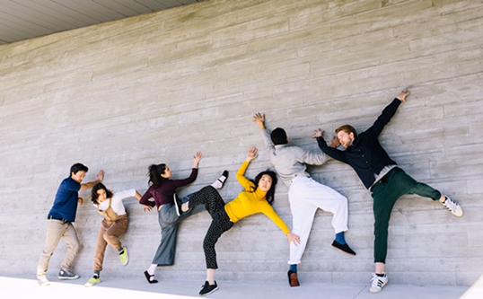Dancers Cristina Bucci, Dean Placzek, Mark Siller, Antonio Somera, Maiko Miyauchi.| Photo by Teppei Tanabe.