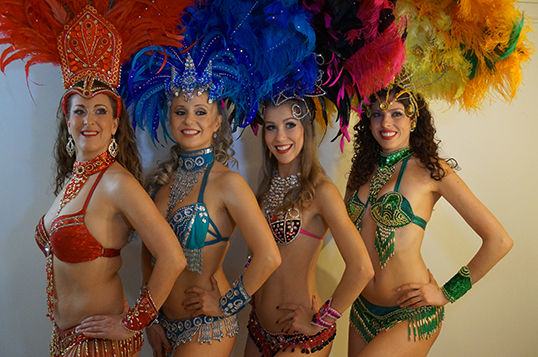 Samba Fusion dancers. | Photo courtesy of Samba Fusion