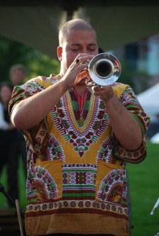 Miguelito Valdés, Cuban jazz trumpetist.| Photo courtesy of Miguelito Valdés.