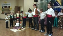 Children demonstrate Bosnian folk dance at an event put on by the BHCCVC. | Photo courtesy of the Bosnian and Herzegovinian Cultural Center Canada Society