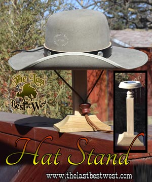 Solid Wood Hat Stand