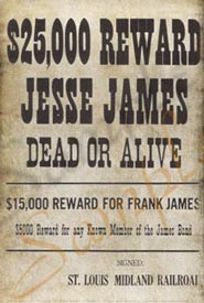 Authentic Wanted Poster