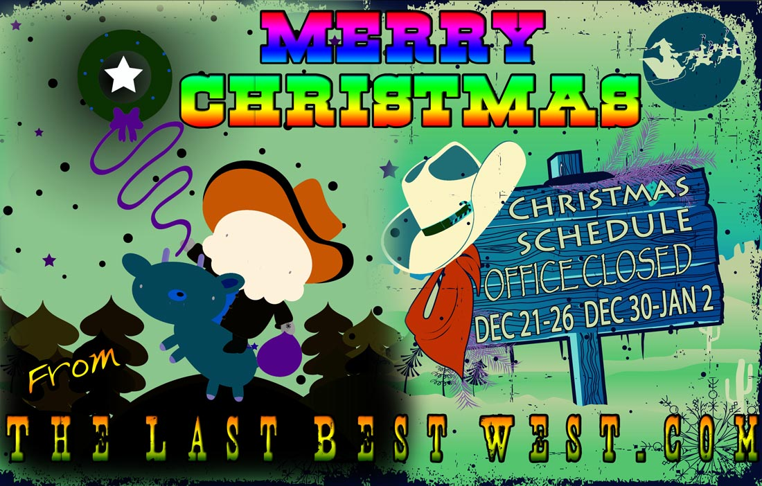 Merry Christmas from The Last Best West