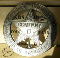 Old West Ranger Badges