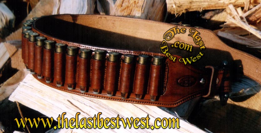70s Leather Shell Belt