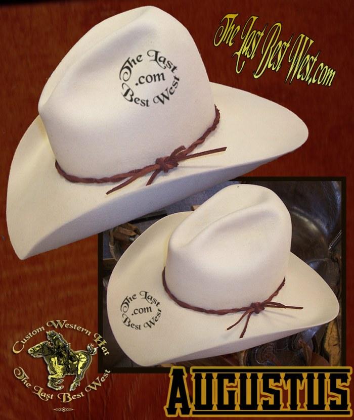 Augustus Custom Handmade Hat