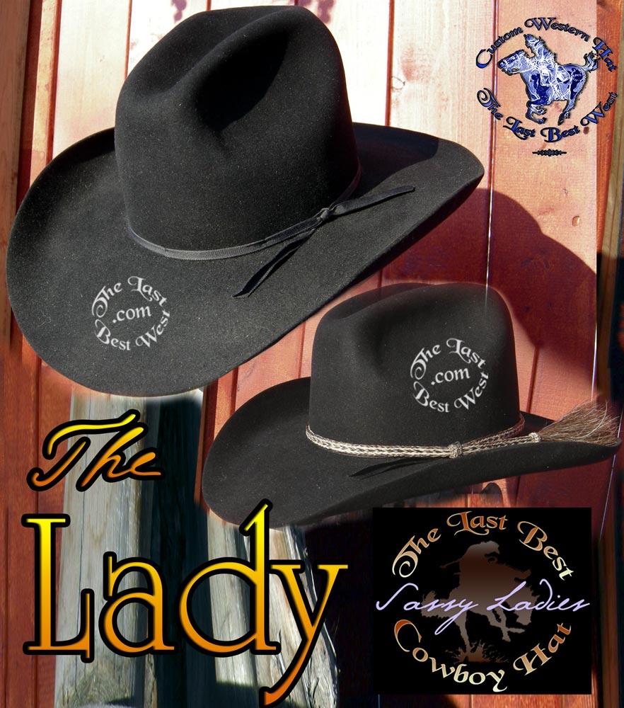 Ladies Cowboy Hats - The Last Best West 6df48b8665f