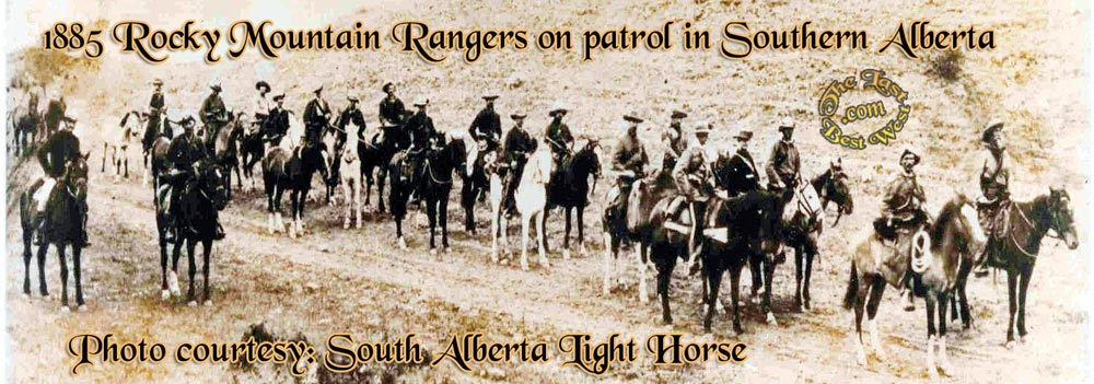 The Rocky Mountain Rangers of 1885