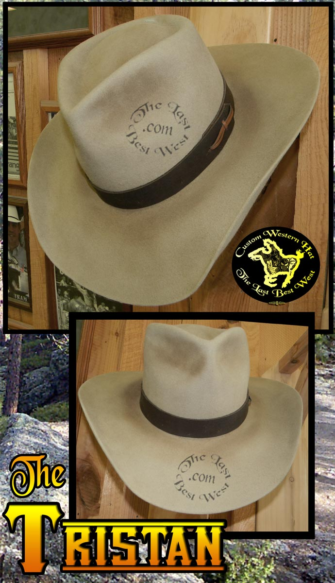 af760443f89a7 Tristan Movie Hat - The Last Best West