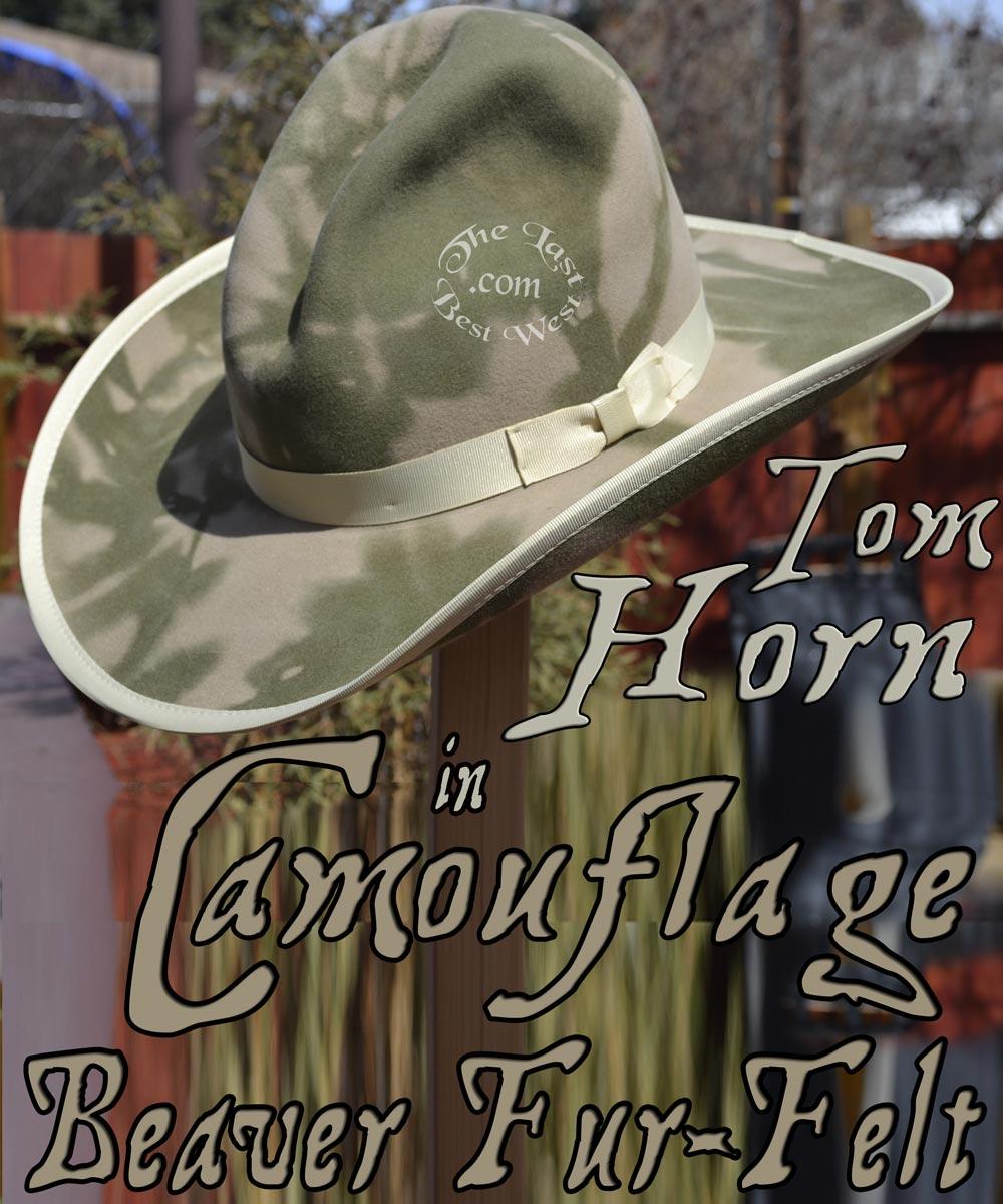 1171eb9782e Tom Horn Cowboy Hat - The Last Best West