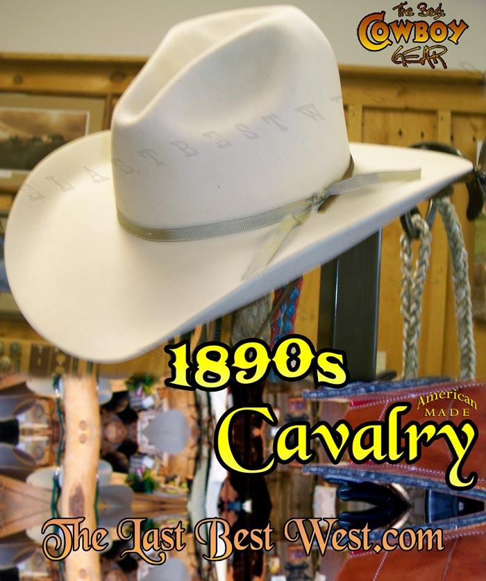 1890s Cavalry Hat