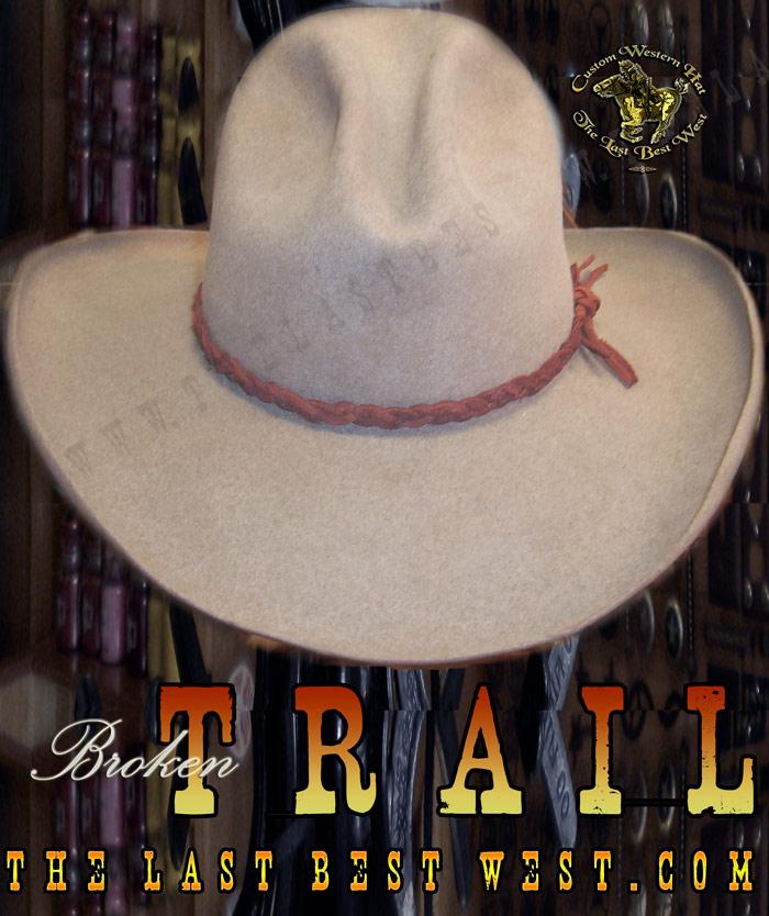 Broken Trail Movie Hat