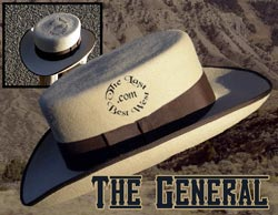 The General Custom Handmade Hat