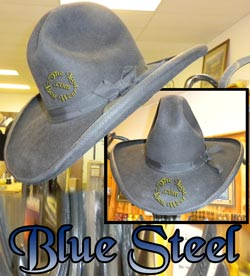 Blue Steel Custom Handmade Hat