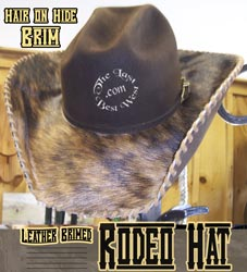 c5395a7baef60 Rodeo Royale Custom Handmade Hat - The Last Best West