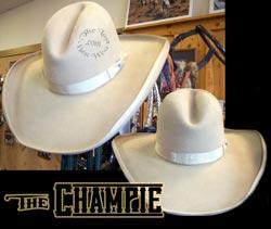 working/dirty champie cowboy hat