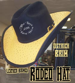 Rodeo Royale Custom Handmade Hat