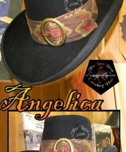 Angelica Custom Handmade Hat