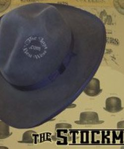 Stockman Custom Handmade Hat