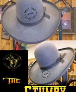 Stumpy Custom Handmade Hat