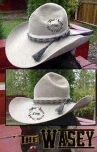 Wasey handmade cowboy hat