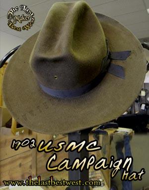 USMC M1902 Campaign Hat - The Last Best West 6be70cb2698
