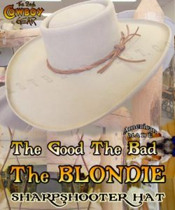 Blondie Sharpshooter Movie Hat