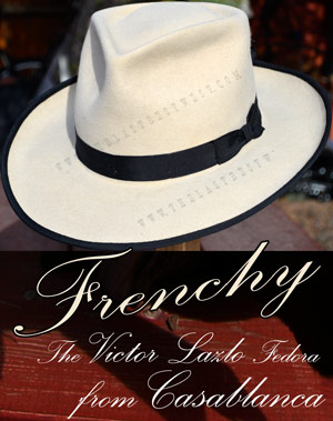Frenchy Hand Made Fedora