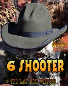 6 Shooter Western Dress Hat