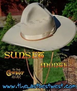 Sunset Monte Movie Hat