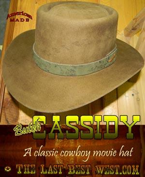Butch Cassidy Cowboy Hat