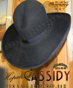 Hoppy Handmade Cowboy Hat