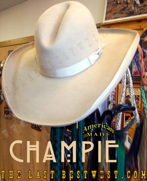 Champie Old West Cowboy Hat
