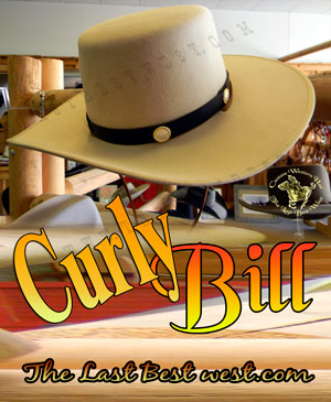 b54b85aafe7 Curly Bill Custom Cowboy Hat - The Last Best West