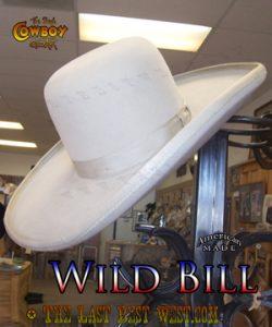 Wild Bill Movie Hat