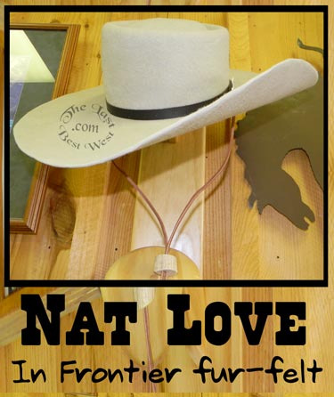 nat love handmade hat